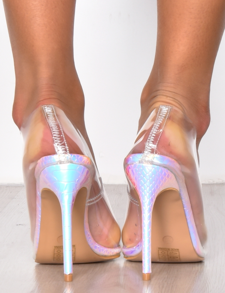 Transparent High Heels