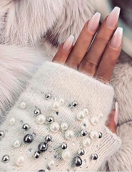 Mitaines à perles