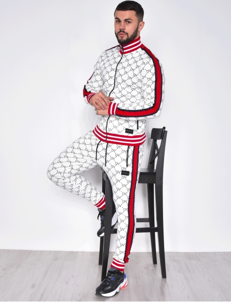 Tracksuit with Stripes