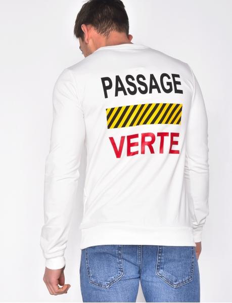 Rhinestone Sweatshirt