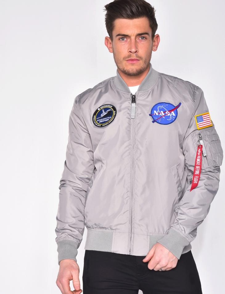 "Bombers ""NASA"" réversible"