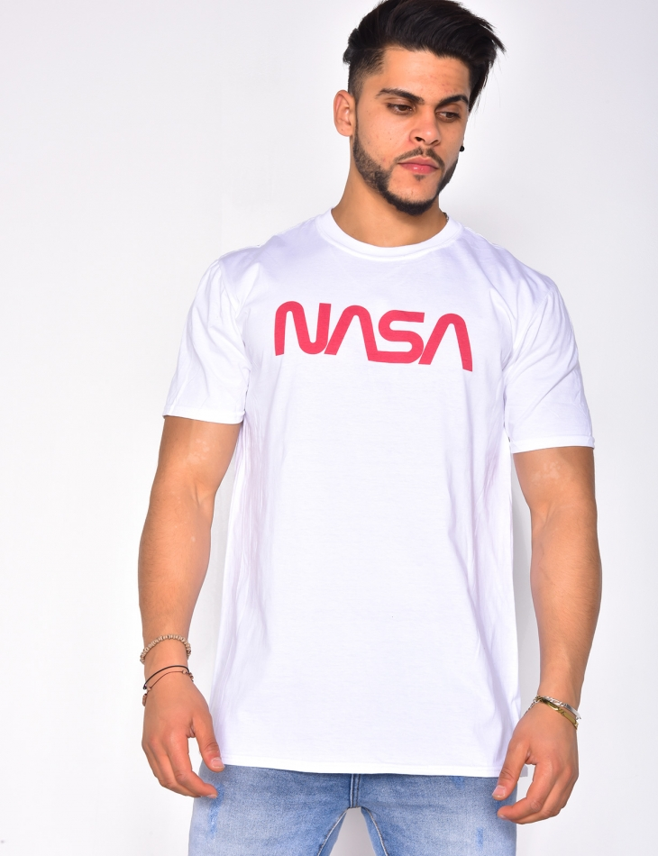"T-shirt uni ""NASA"""