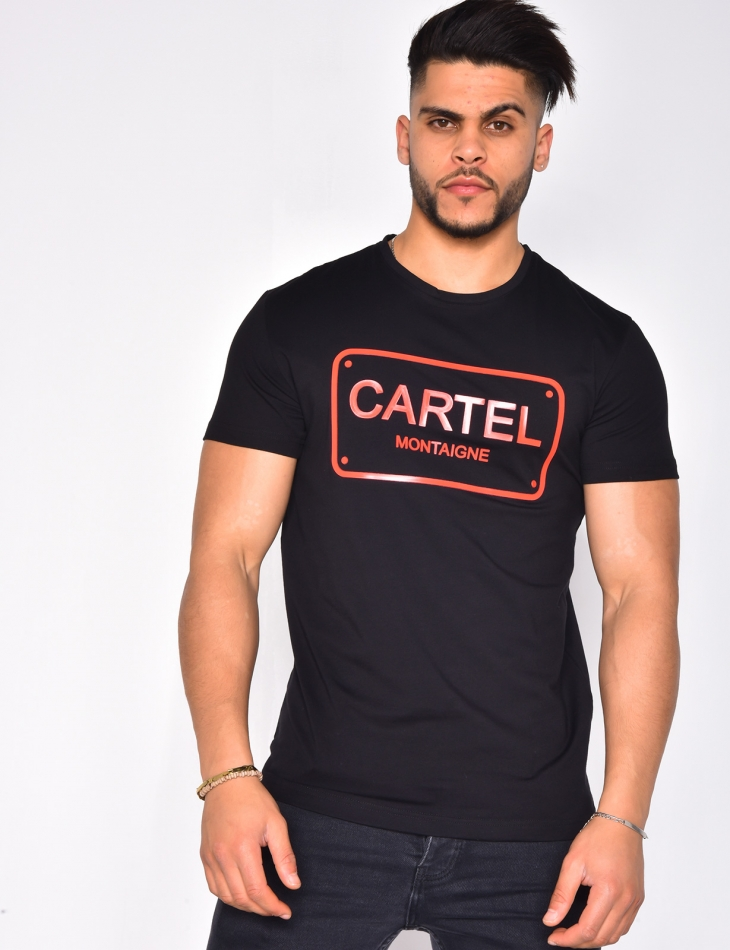 "T-shirt ""Cartel Montaigne"""