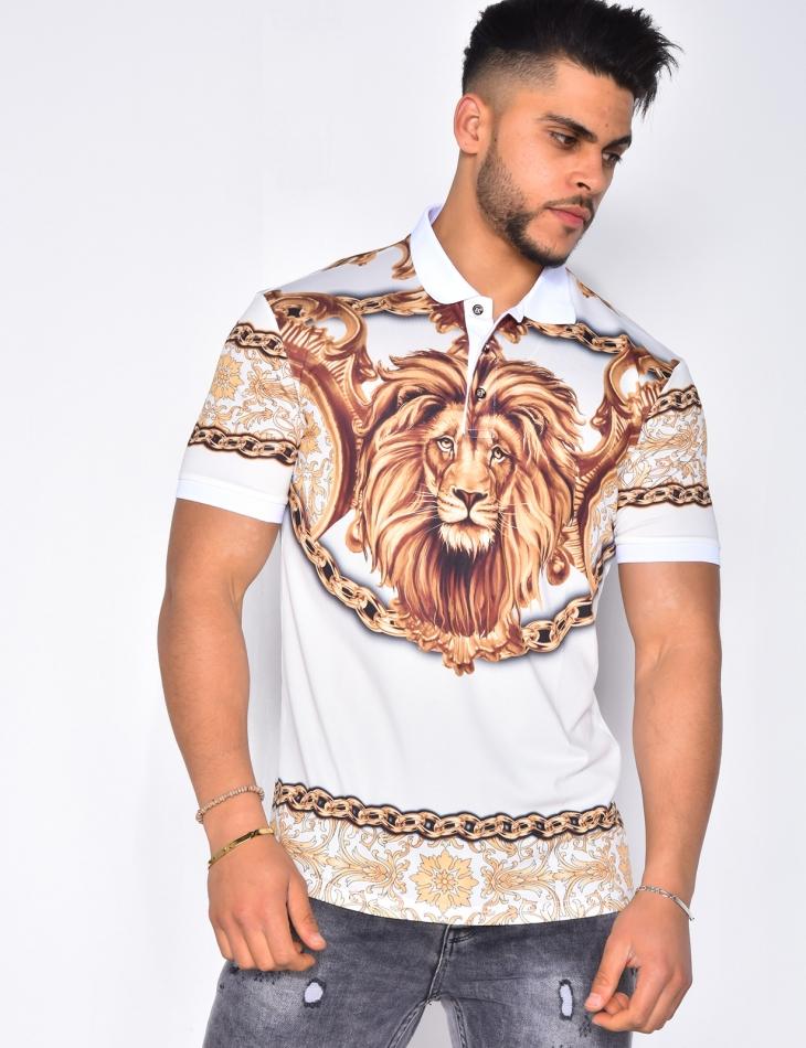 Polo tête de lion