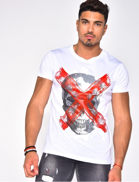 Crossed Out Skull T-shirt