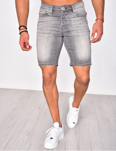 Short en jeans