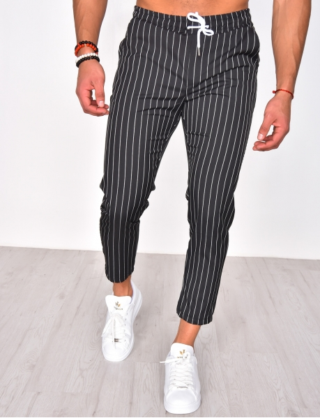 Light Striped Trousers
