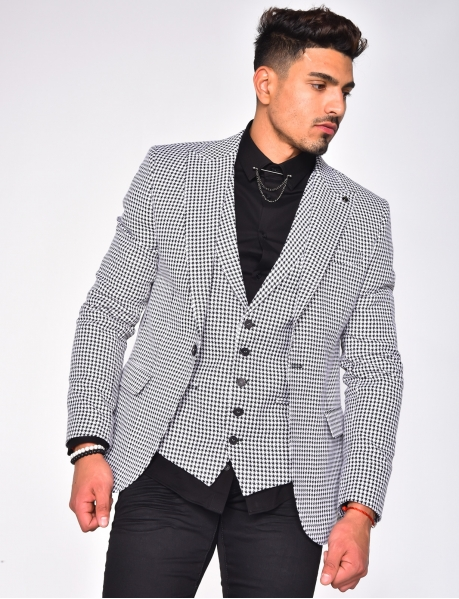 Suit Jacket and Waistcoat Set