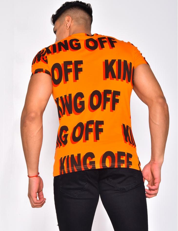 'King off' T-shirt