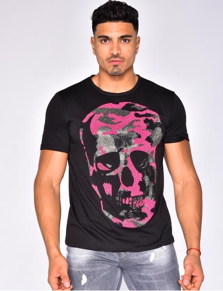 T-shirt tête de mort