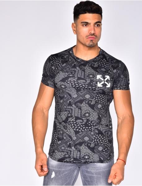 """T-shirt à motifs """"banderra"""""""