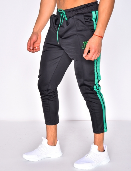 Jogging Bottoms with Stripes