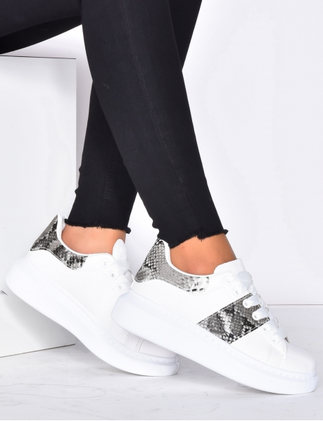Snakeskin Trainers