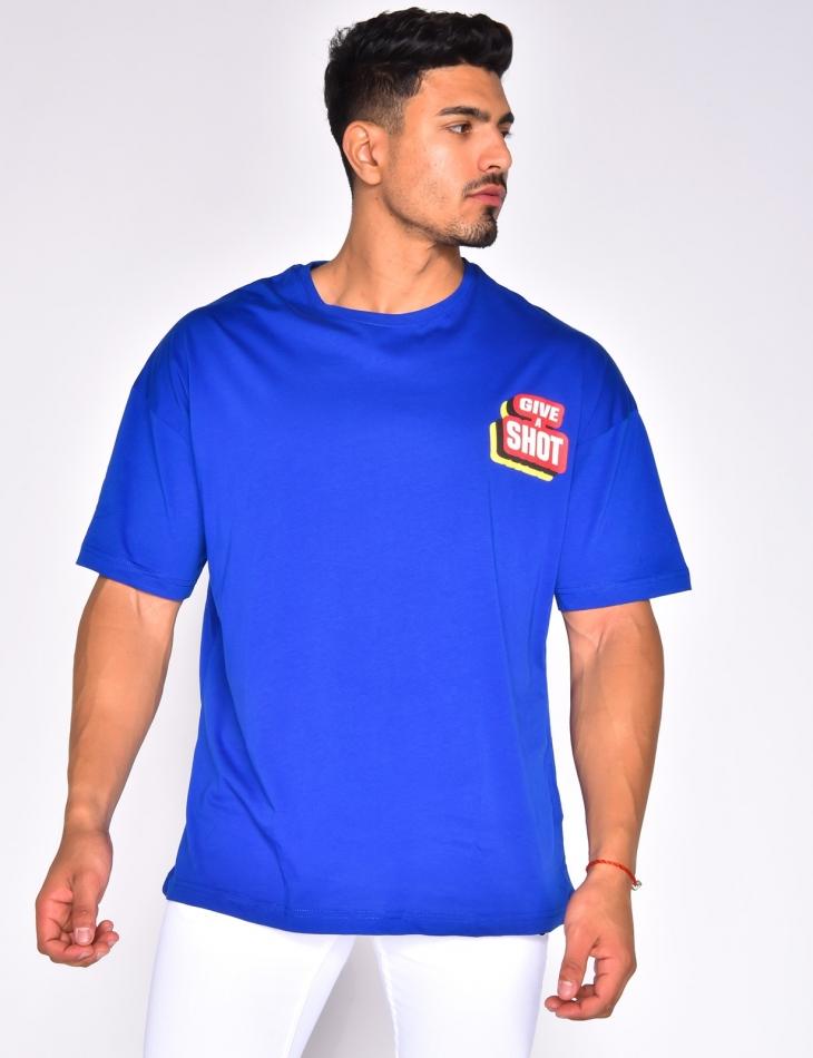 "T-shirt ""Give a shot"""