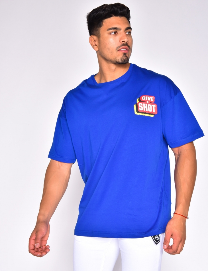 'Give a shot' T-shirt