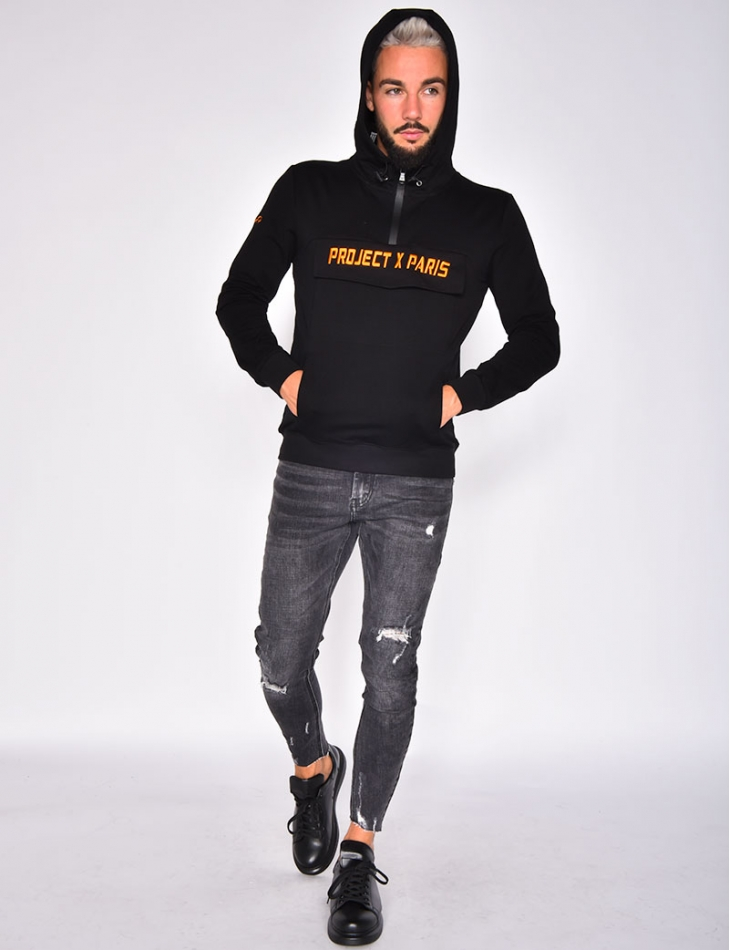 'Project X Paris' Sweatshirt with Hood