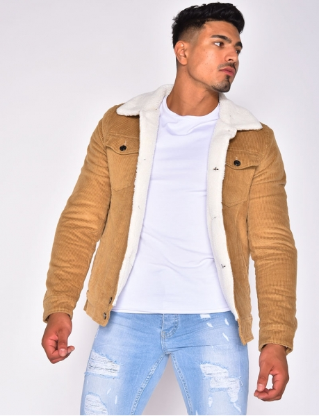 Lined Velvet Jacket