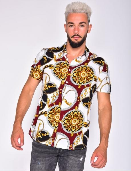 Hemd mit Barockmotiv