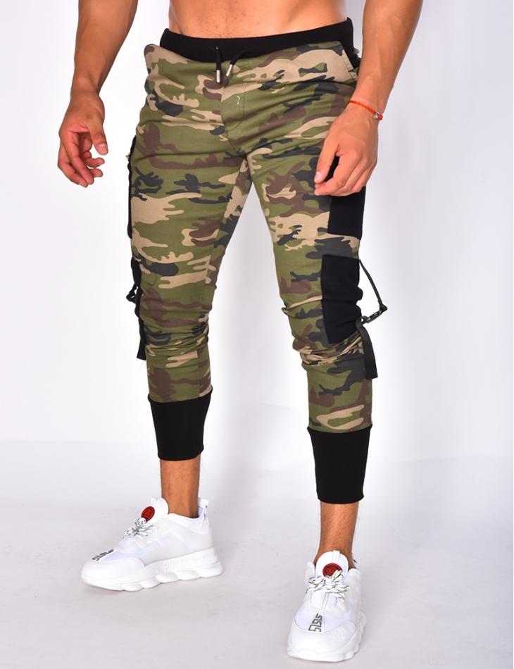 Pantalon camouflage à poches