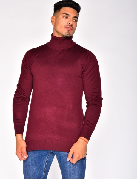 Fine Polo Neck Jumper