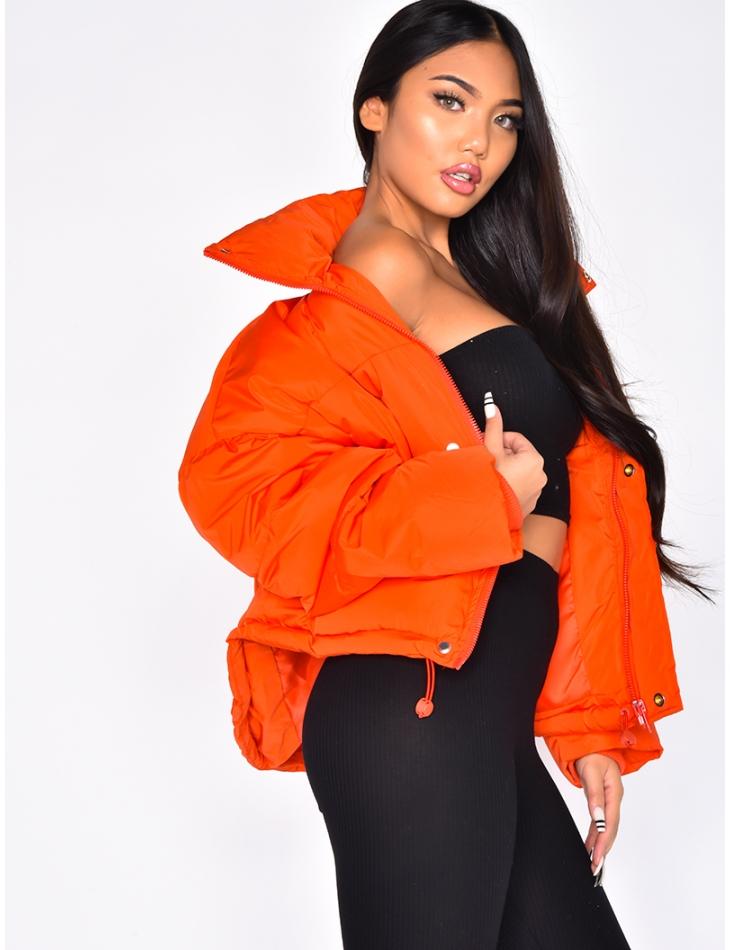 Short Oversized Padded Jacket