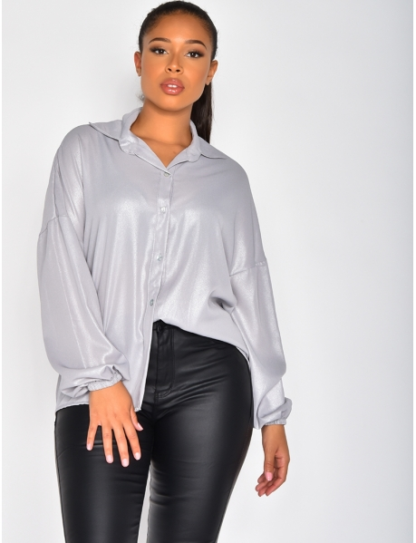 Glittery Loose Fit Shirt