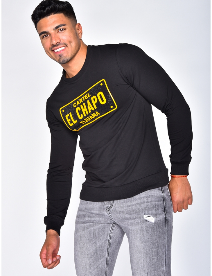 "Sweat col rond ""CARTEL"""