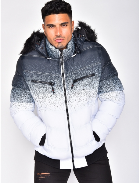 Ombré Padded Jacket