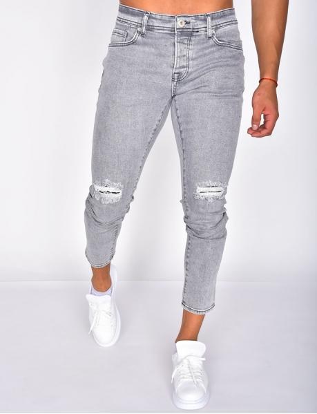 Slim Ripped Jeans