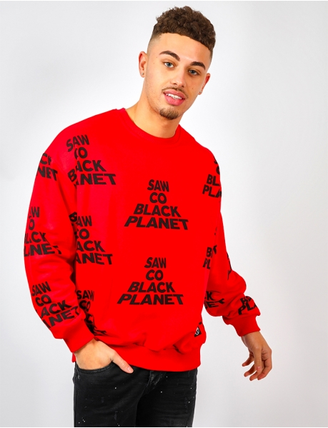 "Sweat ""SAW CO BLACK PLANET"""