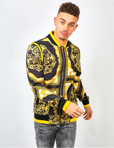 Jacket with Baroque Pattern