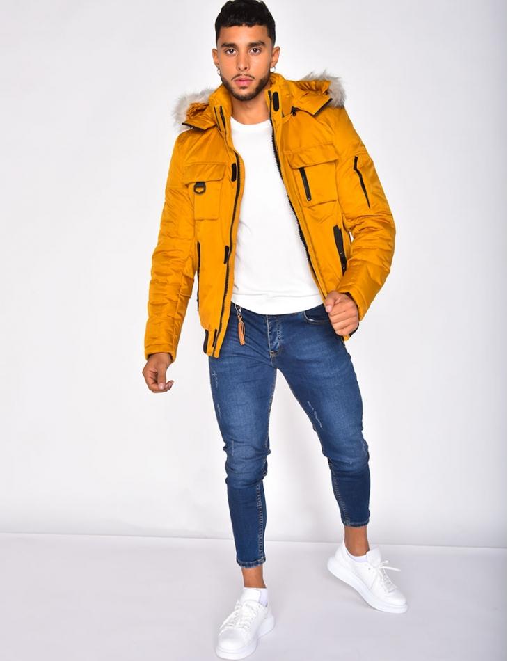 Fur Padded Jacket