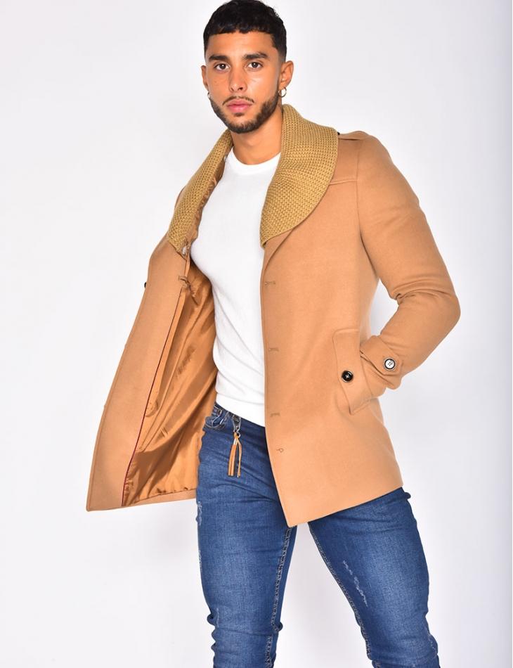 Manteau à col