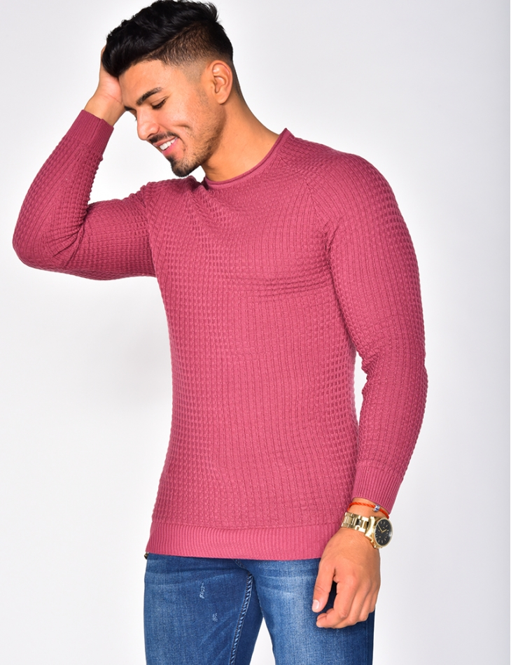 Light Ribbed Jumper