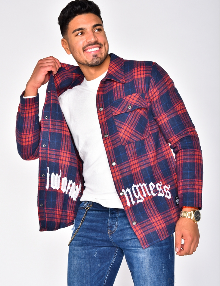 """""""Knomingness"""" Checked Shirt"""