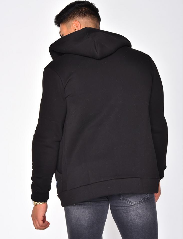 """""""SAW"""" Jacket with Hood"""