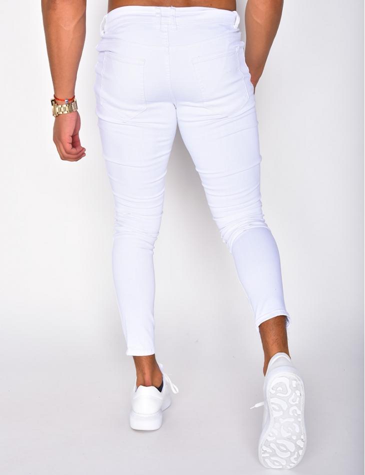 Basic White Jeans