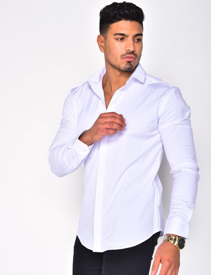 Long Sleeved Textured Shirt