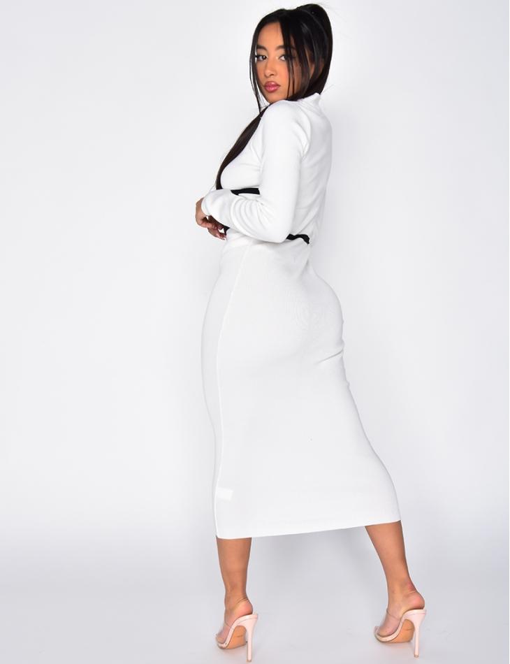 robe côtelé