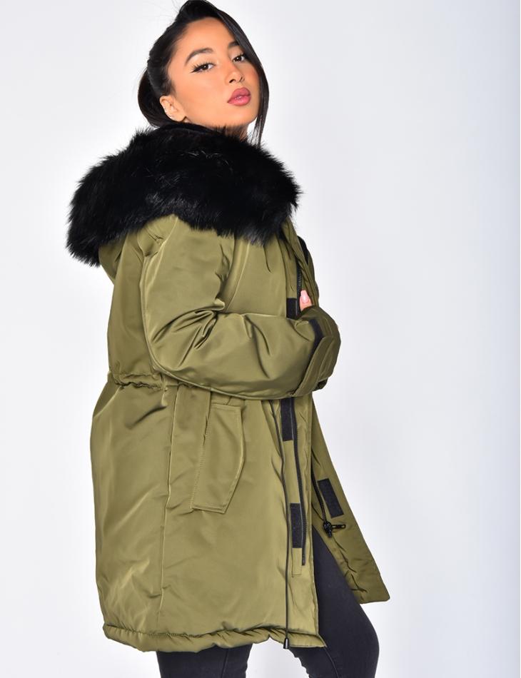 Parka with Fur Hood