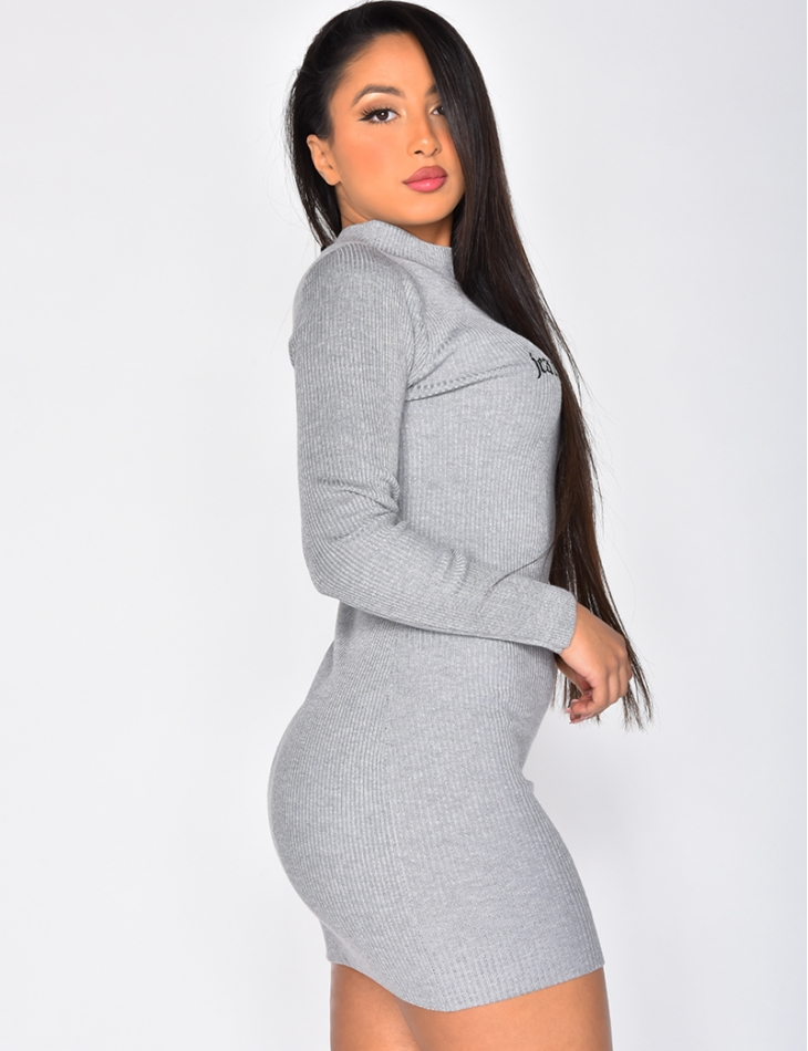 JEANSINDUSTRY Ribbed Dress