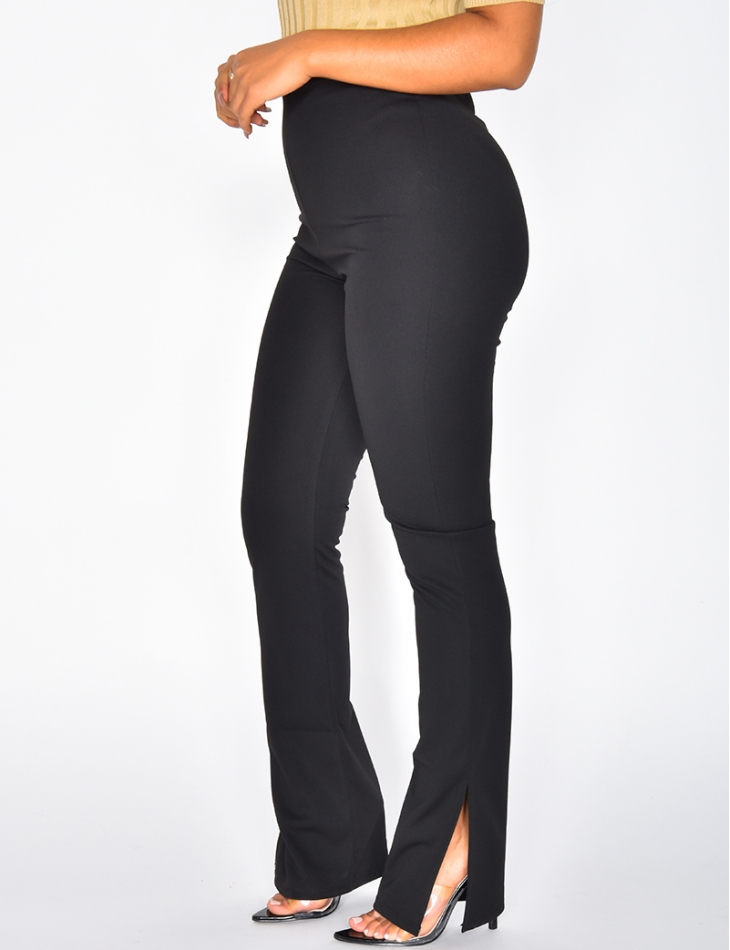 Trousers with Side Slits