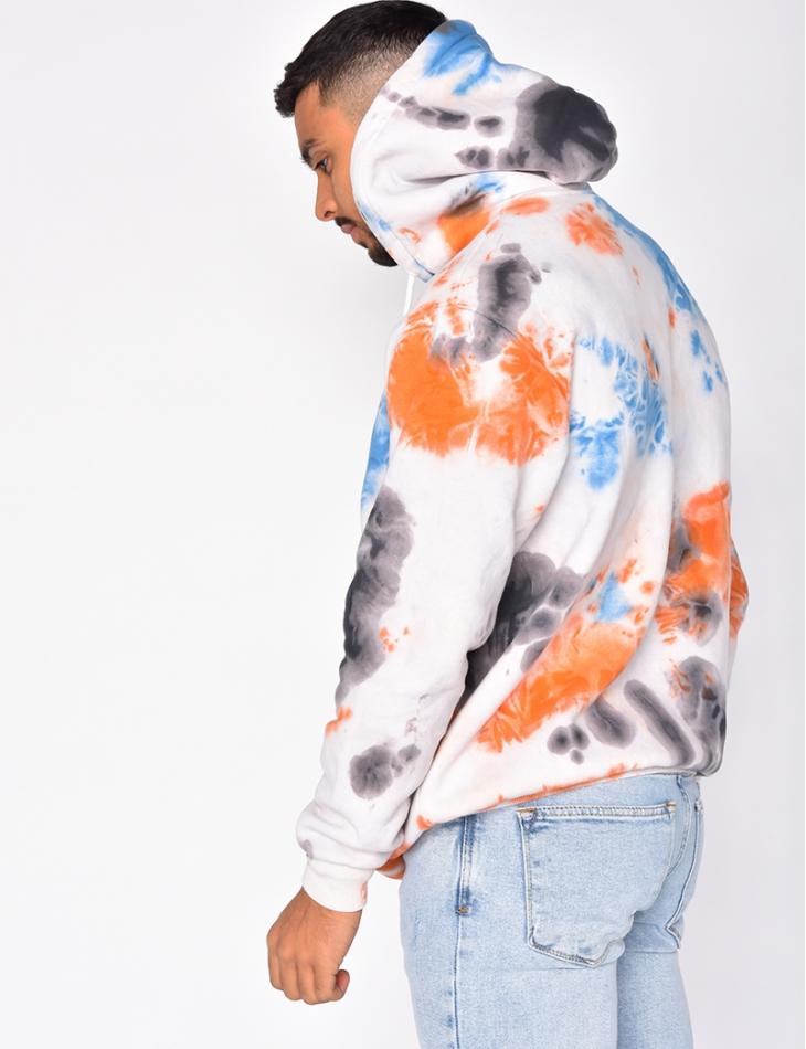 Tie Dye Style Sweatshirt