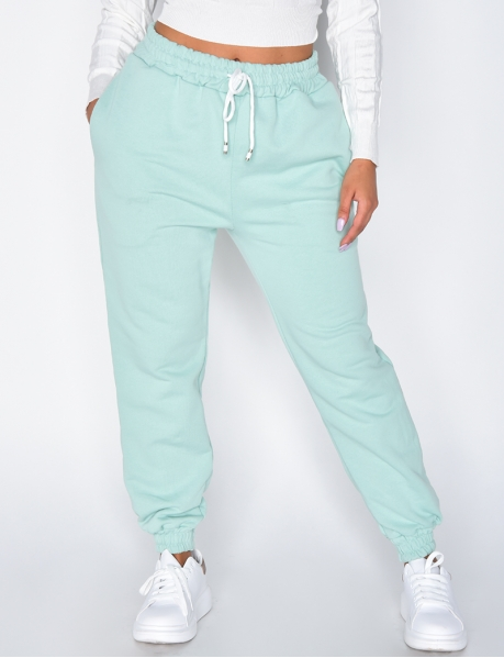 Pantalon de jogging molletoné