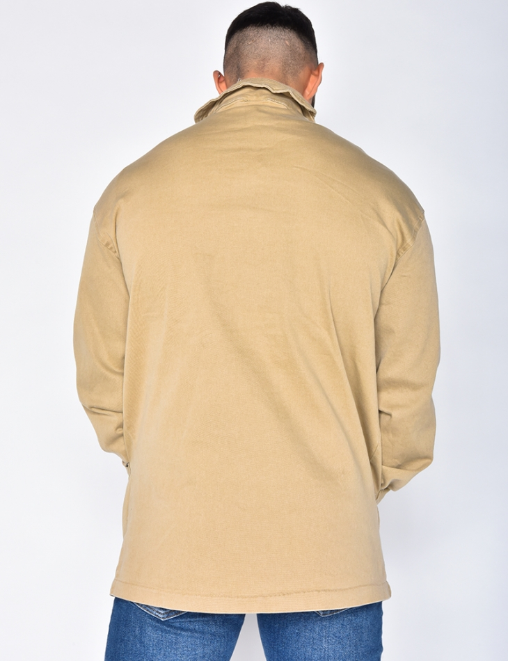 Pull On Denim Jacket