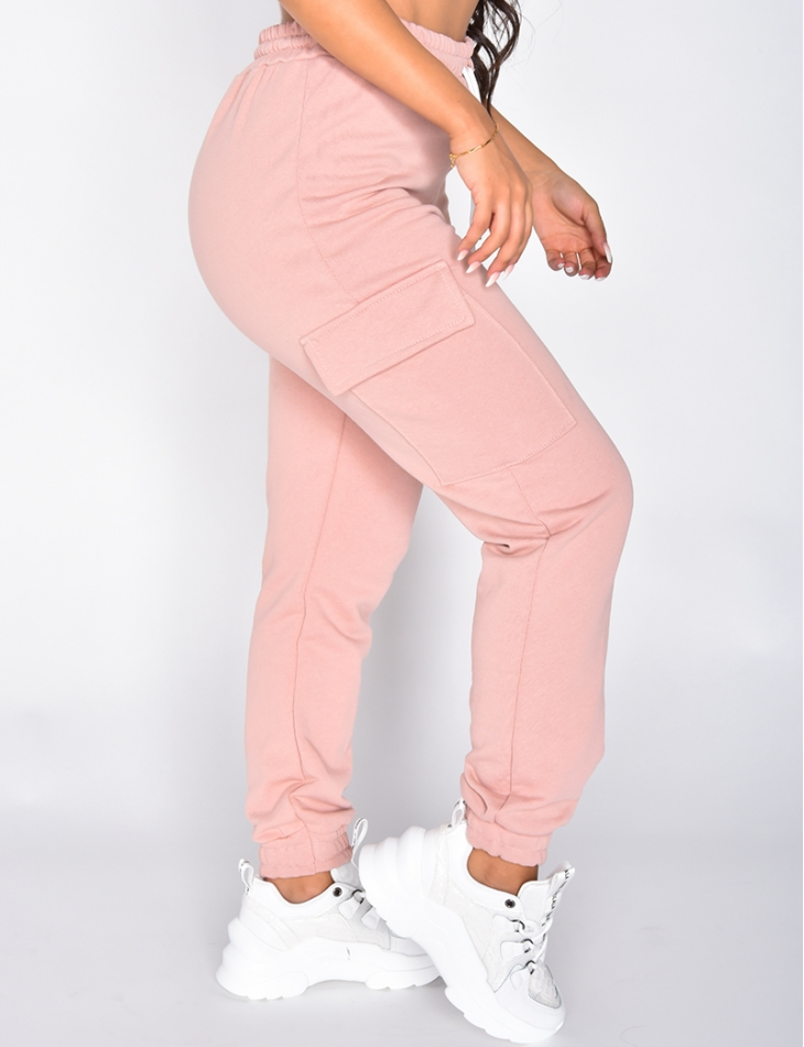 Cargo Style Jogging Bottoms with Pockets