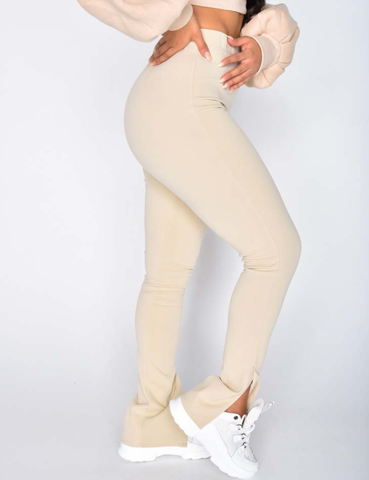 Trousers with Slits