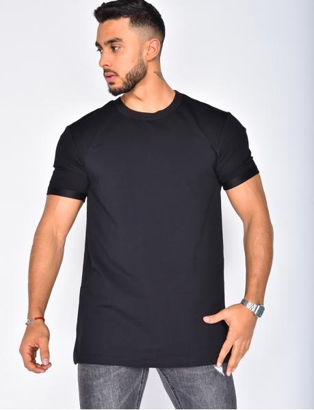 T-Shirt mit Rundhalsausschnitt, Oversize