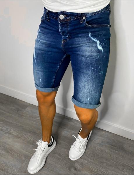 Bermuda en jeans homme