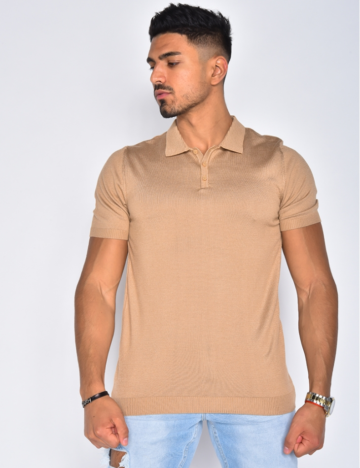 Men's Basic Polo Neck